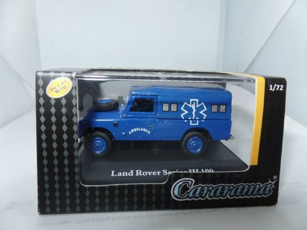 Cararama 7-51980 1/72 Scale Land Rover Series III 109